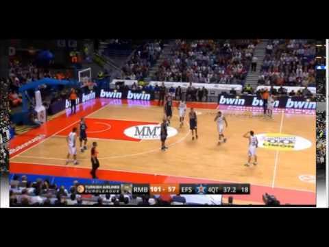Real Madrid - Anadolu Efes Pilsen 13/11/2013 Last 2 Minutes