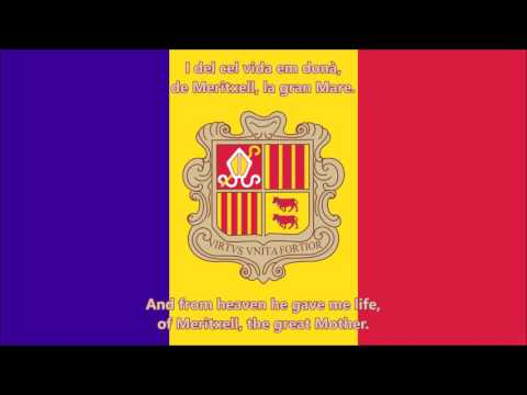 El Gran Carlemany - National anthem of Andorra (Catalan/Engl