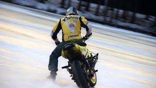 Aras Freestyle   StuntRiding on Ice