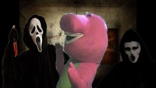 Ghostface Vs Barney The Dinosaur