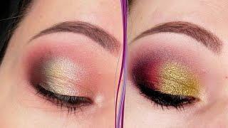 Дневной и вечерний макияж глаз в зеленых тонах Пошаговый урок