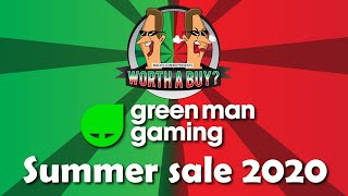 Greenman Gaming Summer Sale - Thanks for the support