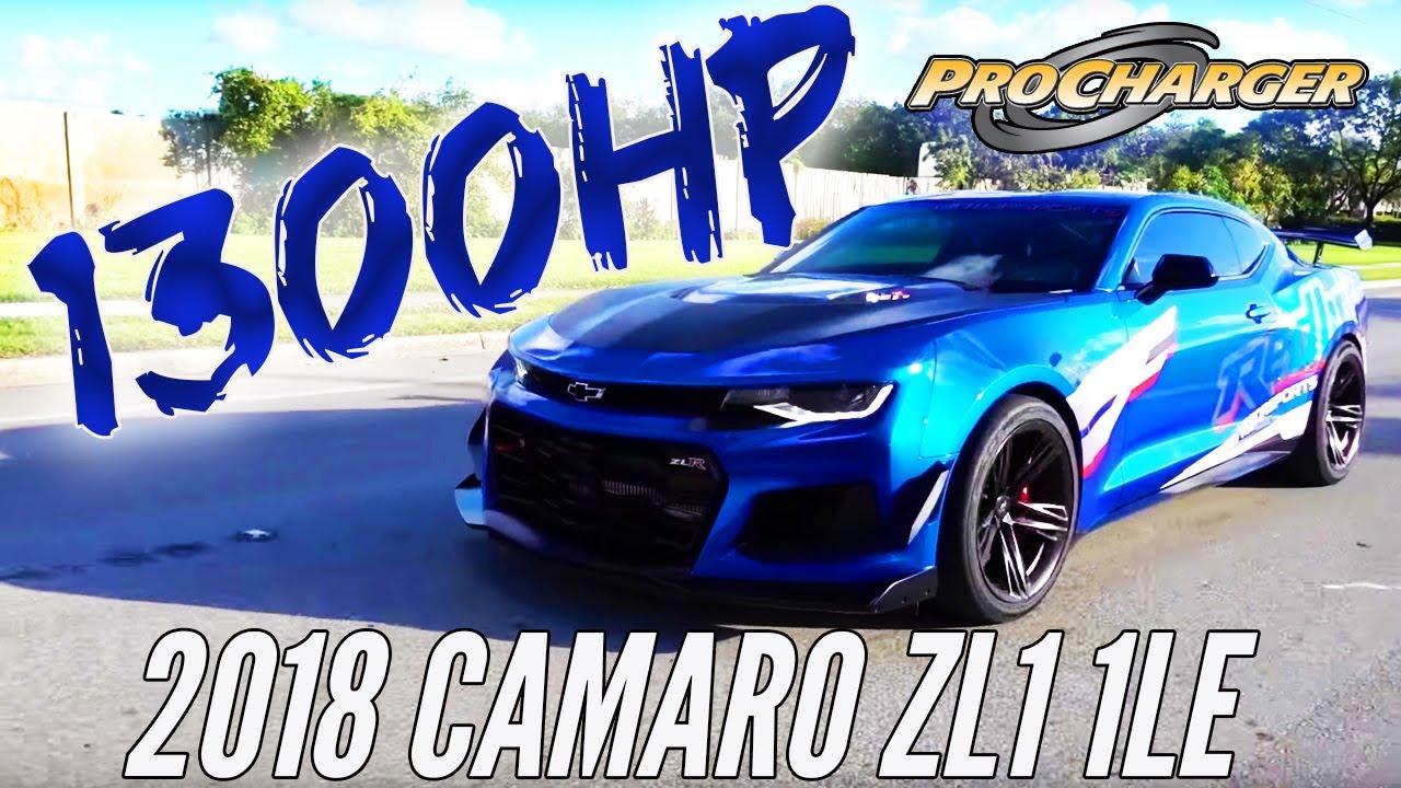 Redline Motorsports 1300 Hp 2018 1le Zl1 Camaro Youtube