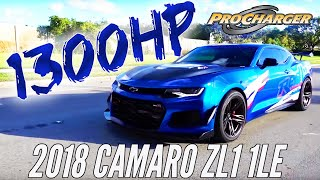 Redline Motorsports 1300 HP 2018 1LE ZL1 Camaro