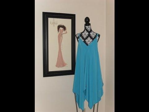 Handkerchief Dress Diy By Denise Gordon Youtube