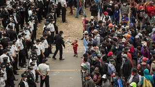 Guatemalan troops break up migrant group on their way to Mexico