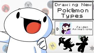 Download Drawing New Pokemon Types w/Jaiden Animations Mp3 and Videos