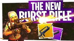 The New Epic & Legendary Burst Rifle! - Fortnite New Famas Gun Gameplay