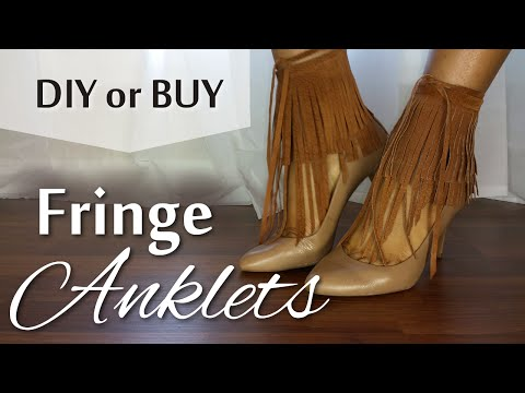 How To Add Fringe To Any Heel Or Sandal | Blueprint DIY | Summer Trends