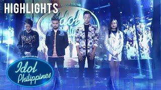 Trish at Renwick, tuluyan nang nagpaalam sa kompetisyon | Live Round | Idol Philippines 2019