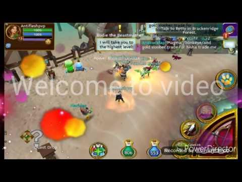 Arcane Legends PvP Build Rogue Lvl 13