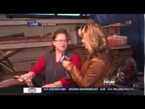 Used Wine Barrels | Part 2 - 715am |  Bethany Crouch | Fox 40 News KTXL |  Sacramento