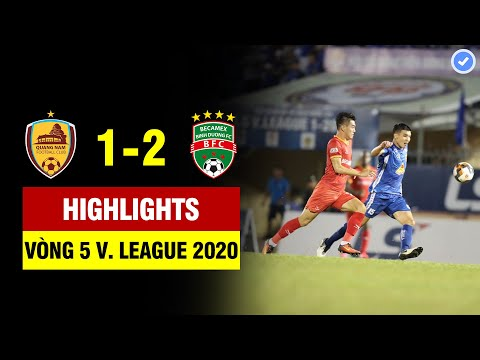 BHTS Quang Nam Binh Duong Goals And Highlights