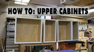 HOW TO: Build Upper Kitchen Cabinet Carcasses DIY