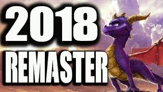 Spyro The Dragon TRILOGY PS4 Remaster Release Date 2018
