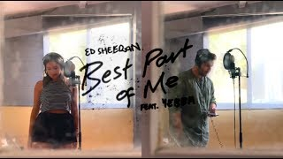 Gambar cover Best Part of Me - Ed Sheeran ft Yebba / Cover by Jodie Mellor and Charlie Tyrrell Smith
