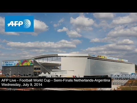 AFP Live - Football World Cup - Semi-finals - Netherlands-Argentina - Arrival of supporters
