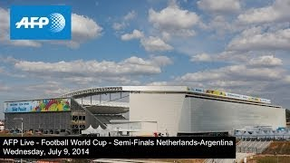 AFP Live - Football World Cup - Semi-finals - Netherlands-Argentina - Arrival of supporters thumbnail