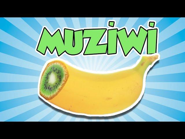 Muz ile Kiwiyi Saksıda Birleştirip MUZİWİ Yetiştirdik