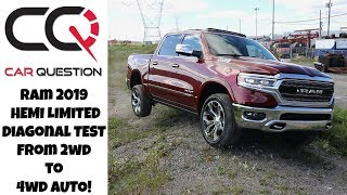 2019 Ram Limited | 4WD Diagonal TEST! | Nothing too big for this RAM!