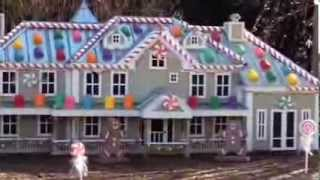 My Elf On The Shelf Candy Cane Vacation North Pole Home Land...