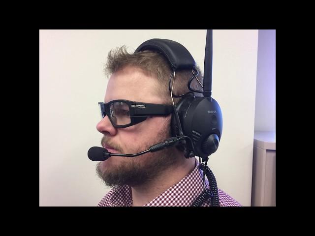 Connecting Sena Tufftalk headset/mic to Pivothead Glasses Video Calls