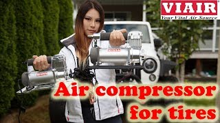 Viair 400P Automatic Compressor [Unbox & Test Review] Inflate Car Tires
