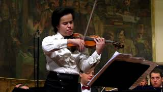 Roman Kim plays his own Violin Concerto #1