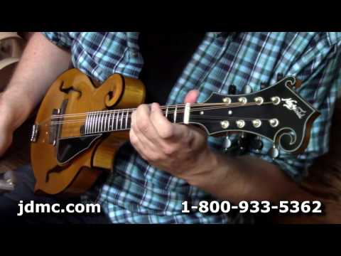 "Northfield F Style Mandolin ""F5S Amber Tortoise"" Review by JDMC"