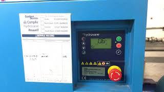 hydrovane compressor pressure drop issue 2
