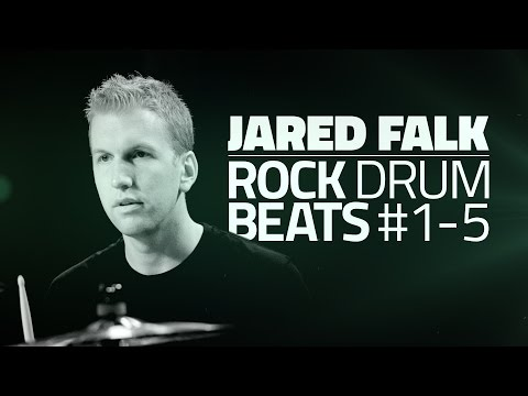 Rock Drum Beats - Free Beginner Drum Lessons (Part #1 of 5)