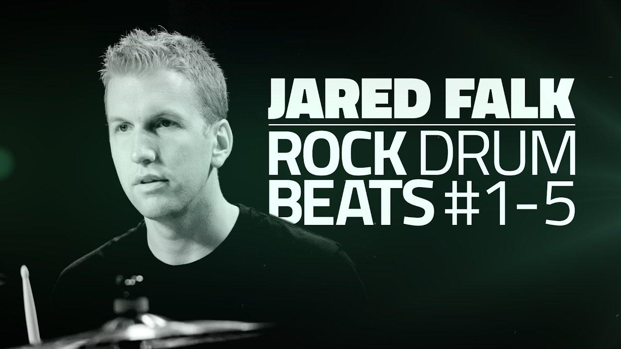 Rock Drum Beats - Free Beginner Drum Lessons (Part #1 of 5)