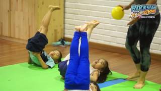 Fun and healthy yoga class 4 - 8 years at rockstar gym!