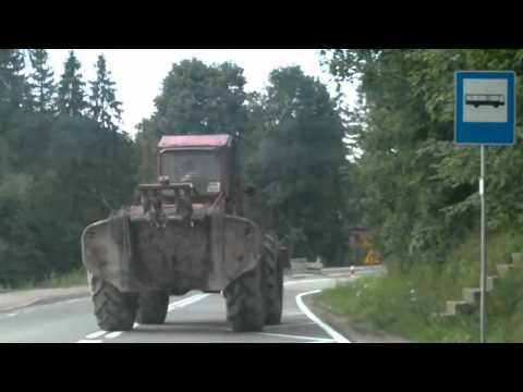 Epic very  drunk Polish tractor driver