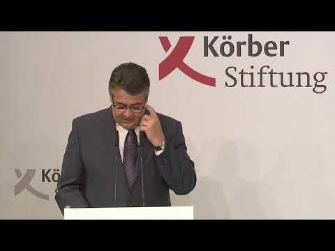 Rede zur Eröffnung des Berlin Foreign Policy Forum 2017 von Sigmar Gabriel
