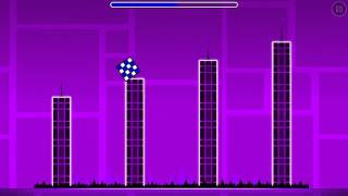 "Geometry Dash- Level 1 ""Stereo Madness"" 100% Normal- All Secret Coins"