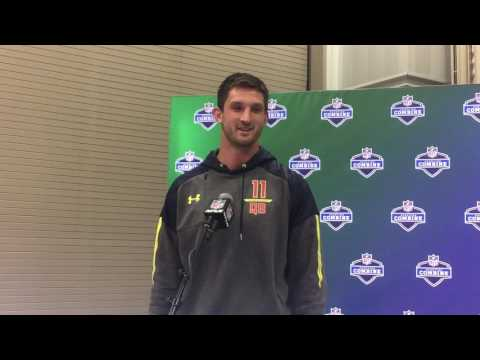 2017 NFL Combine -- Nathan Peterman