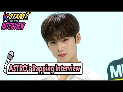 [CONTACT INTERVIEW★] ASTRO Comeback Interview With Rap 20170604