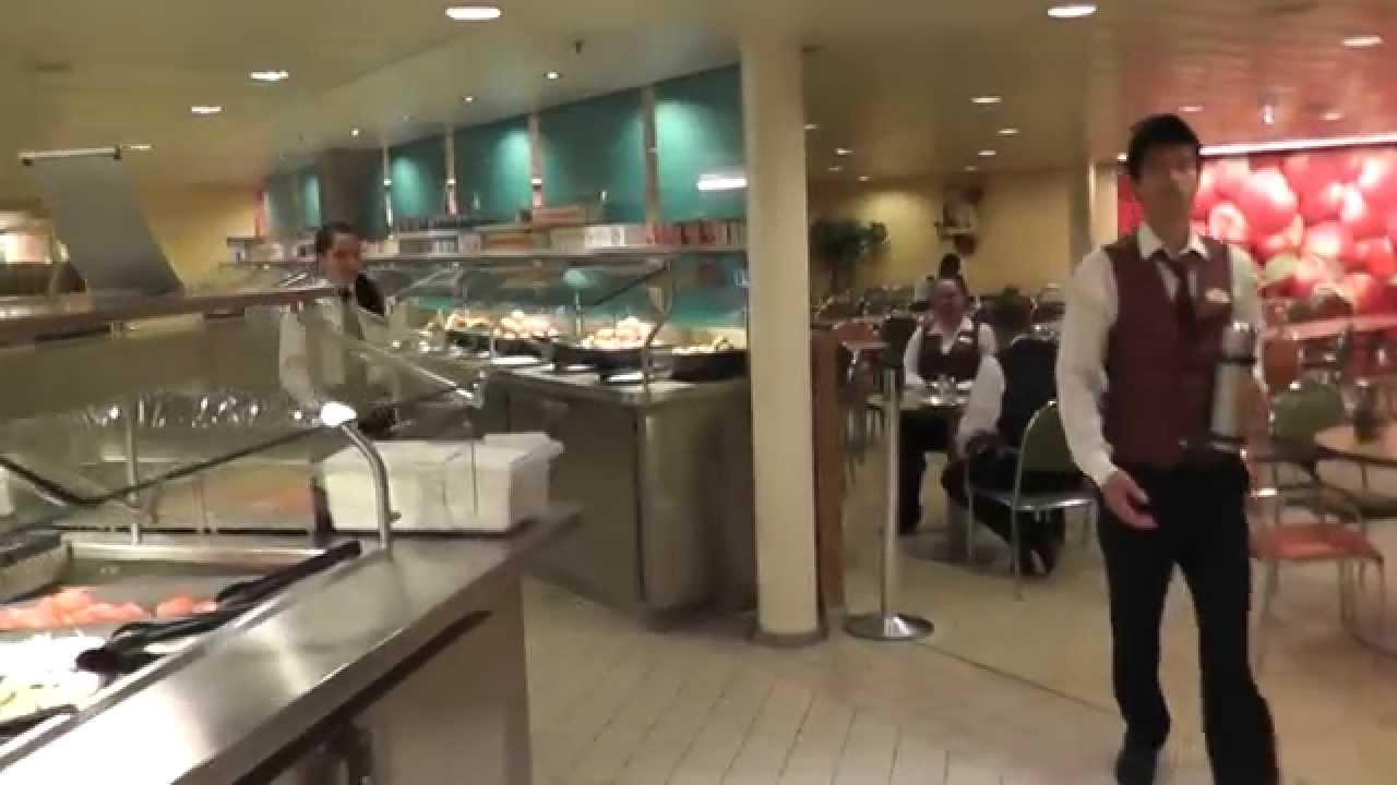 Allure Of The Seas Crew Area YouTube - Cruise ship staff quarters