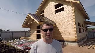 Дома из бруса: плюсы и минусы (видео)