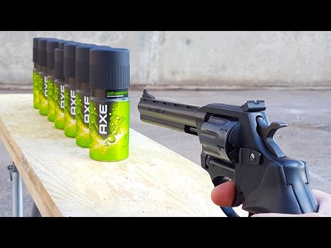 EXPERIMENT GUN vs AXE BODY SPRAY