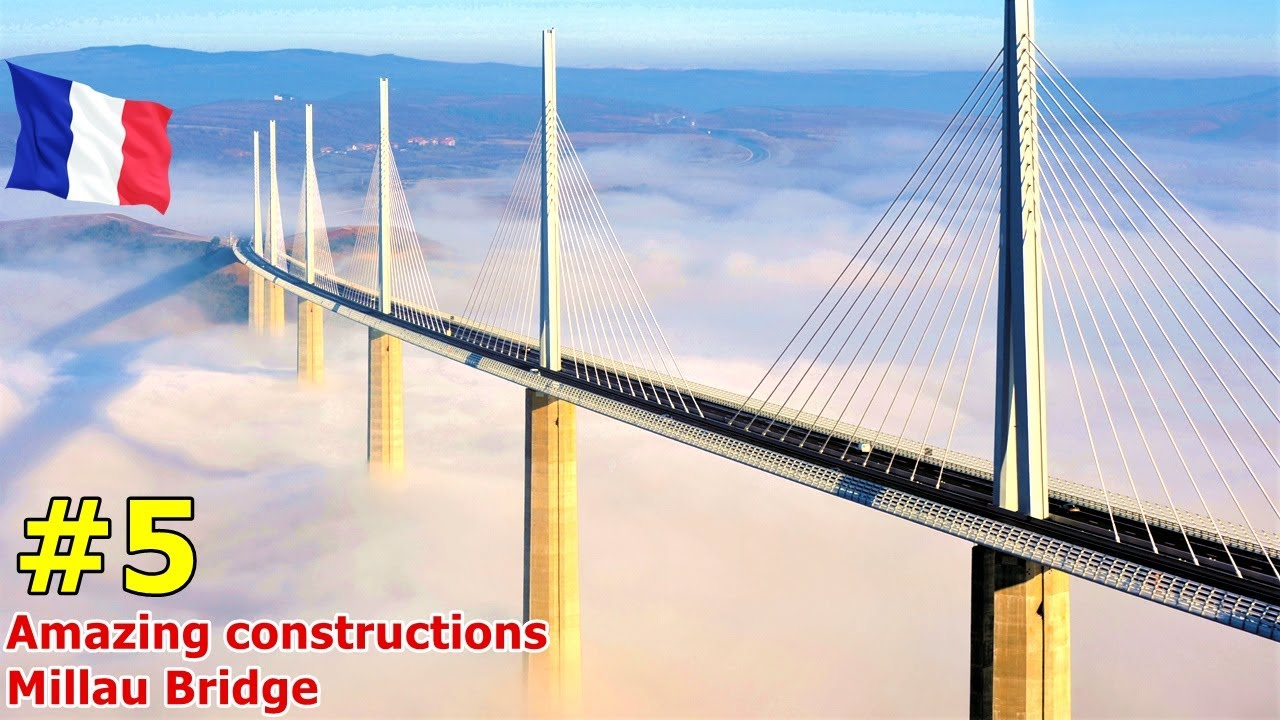 อลังการงานสร้าง !! 5 สุดยอดการสร้างสะพาน ที่น่าทึ่งที่สุดในโลก # 5 Mega Projects Bridging The World