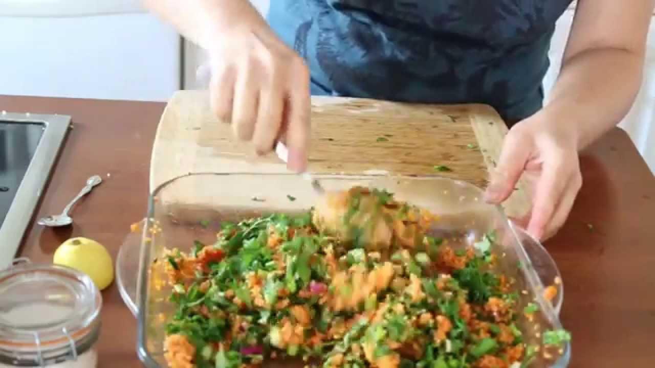 Kolay Vejeteryan Salata Resimli Tarif