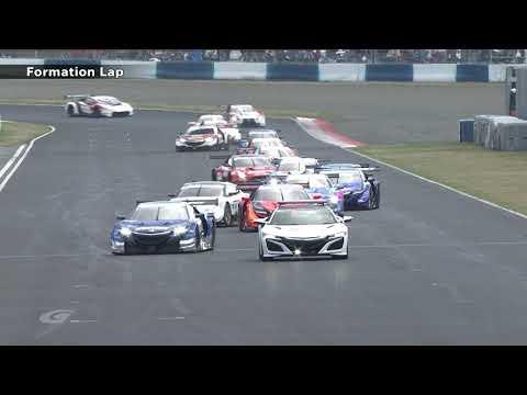 2018 AUTOBACS SUPER GT Round 1 OKAYAMA GT 300km RACE  日本語コメンタリー