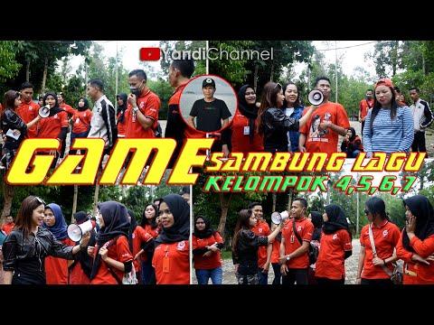 GAME Seru Sambung Lagu Rara & RALOVA Part 03 -- Anniversary Ke 2 TH di Lampung - 동영상