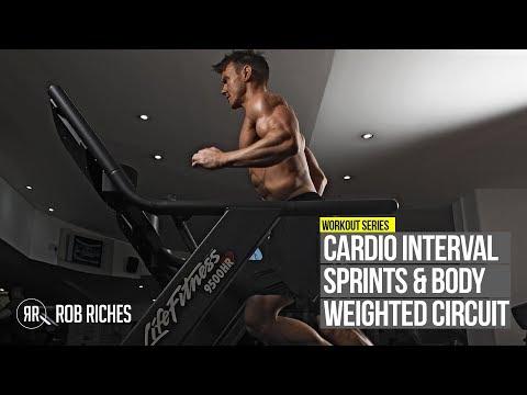 INTENSE FAT BURNER Interval Sprints & 5-Exercise Circuit