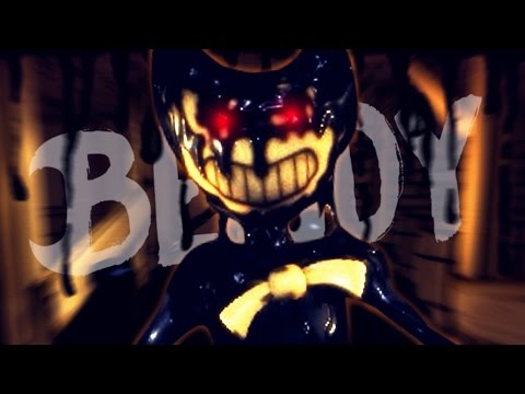 WHO IS THAT GUY?! | Bendy And The Ink Machine [Chapter 2 ENDING & Download]