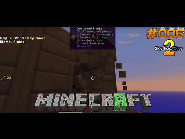 Let's Play Minecraft Sky-Factory 2 | Weiter mit der Mob-Farm | Folge #006