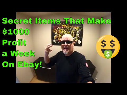 Secret Items That Make $1000 Profit a Week On Ebay