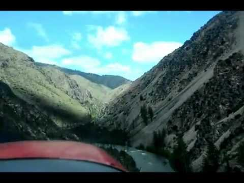 Taking off from Taylor Ranch, Frank Chruch-River of No Return Wilderness, ID, 6 June, 2012